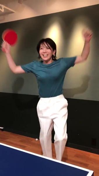 大橋未歩 Twitter 卓球 17