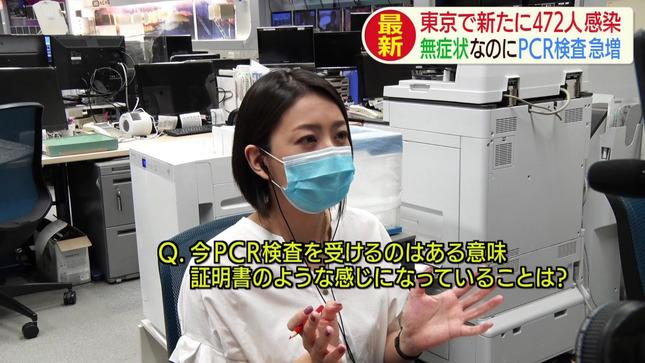 矢島悠子 スーパーJチャンネル ANNnews AbemaNews 6