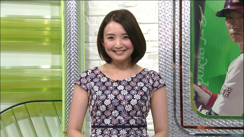 白石小百合アナ 追跡LIVE☆SPORTSウォッチャー