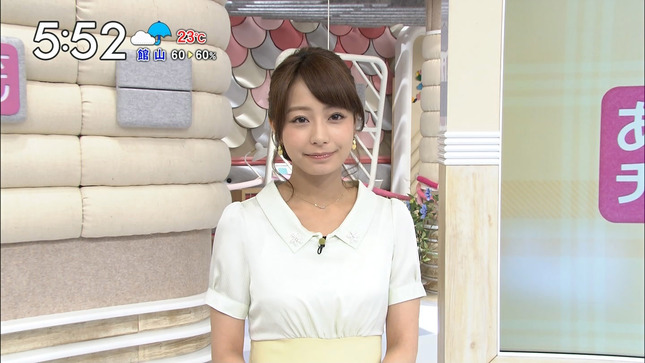 宇垣美里 あさチャン! 佐藤渚 夏目三久 22