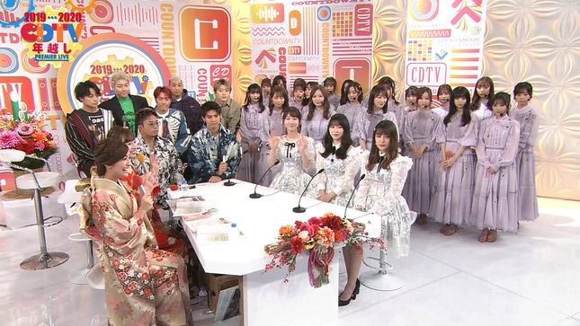 宇賀神メグ 田村真子 宇内梨沙 CDTVスペシャル!年越し 10