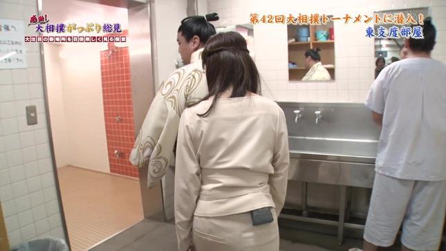 唐橋ユミ 感動!大相撲がっぷり総見 12