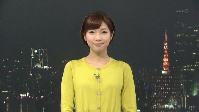 小郷知子 寺川奈津美 NHKニュース7 25