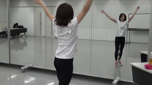 田中萌アナ10日間の記録 女子アナダンス部 17