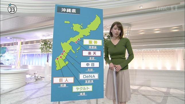 宇内梨沙 News23 皆川玲奈 3
