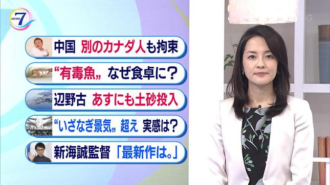 鈴木奈穂子 NHKニュース7 12