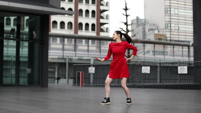 住田紗里アナが本気でフル尺踊ってみた 女子アナダンス部 6