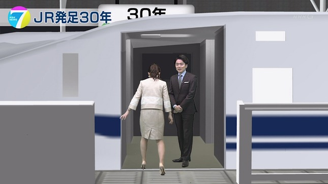 橋本奈穂子 NHKニュース7 21