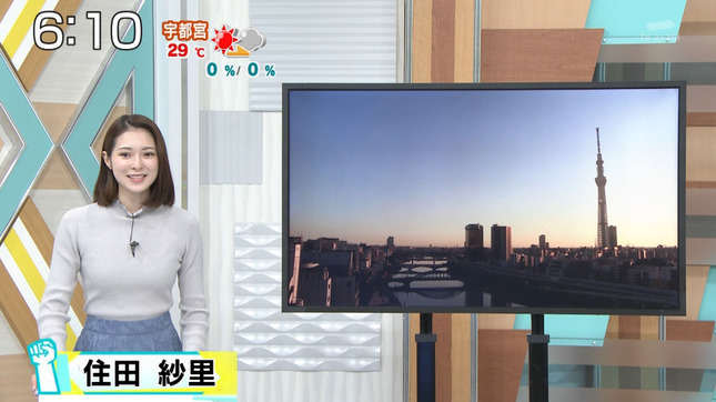住田紗里 週刊ニュースリーダー 1