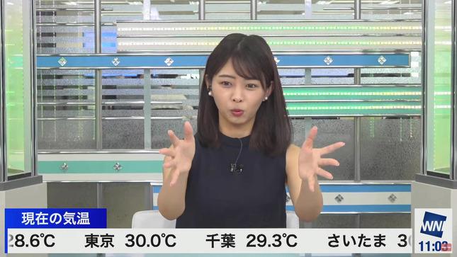 角田奈緒子 ウェザーニュースLiVE 2