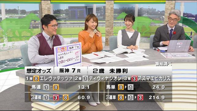 高田秋 BSイレブン競馬中継 高見侑里 9