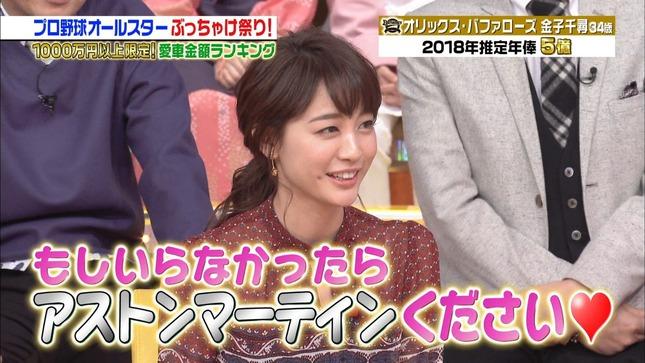 新井恵理那 ジョブチューン 新・情報7daysニュースキャスター 2