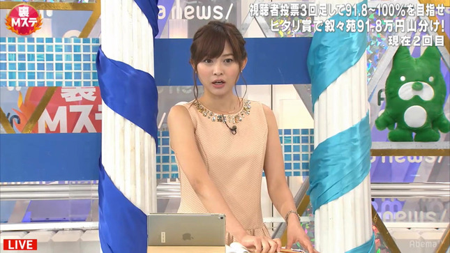 久冨慶子 おかずのクッキング スーパーJチャンネル 裏Mステ16