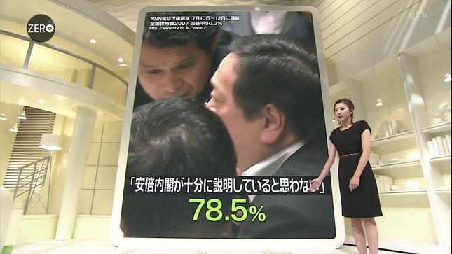 山岸舞彩 NewsZero 12