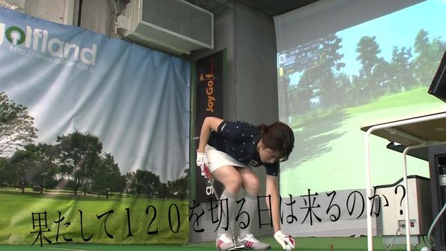 田中萌アナが120を切るまでの物語 26