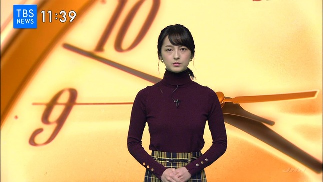 山本恵里伽 TBSニュース4