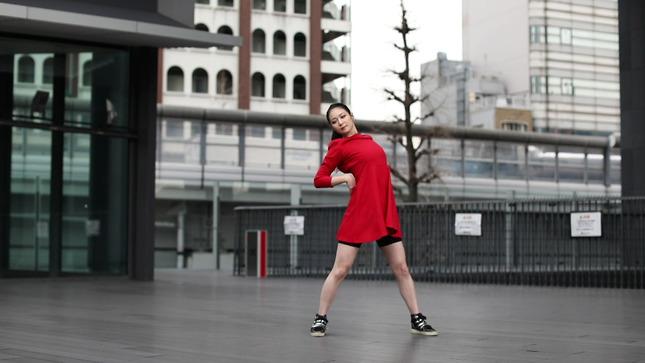 住田紗里アナが本気でフル尺踊ってみた 女子アナダンス部 5