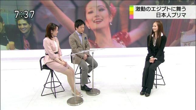 江崎史恵 おはよう日本 美脚 キャプチャー画像 08