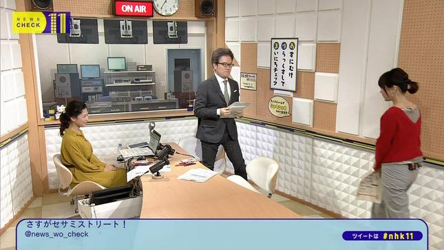 桑子真帆 ニュースチェック11 大成安代 2