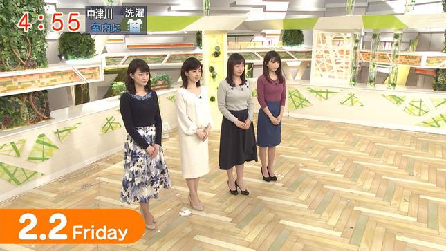 新井恵理那 グッド!モーニング 松尾由美子 福田成美 1