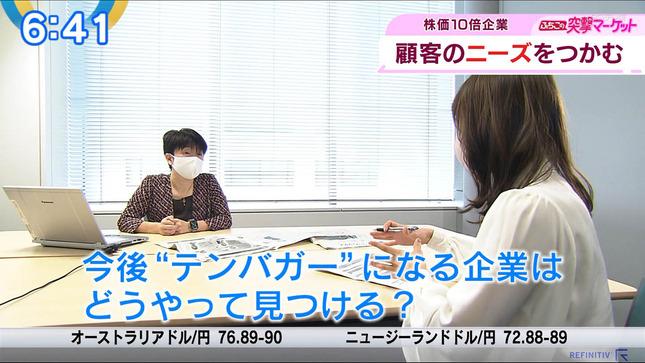 片渕茜 ニュースモーニングサテライト 20