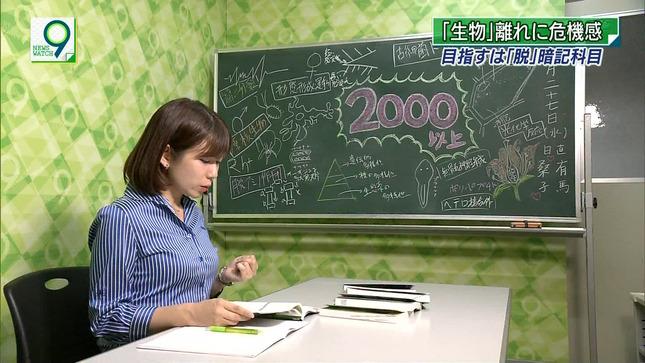 橋詰彩季 ニュースウオッチ9 9