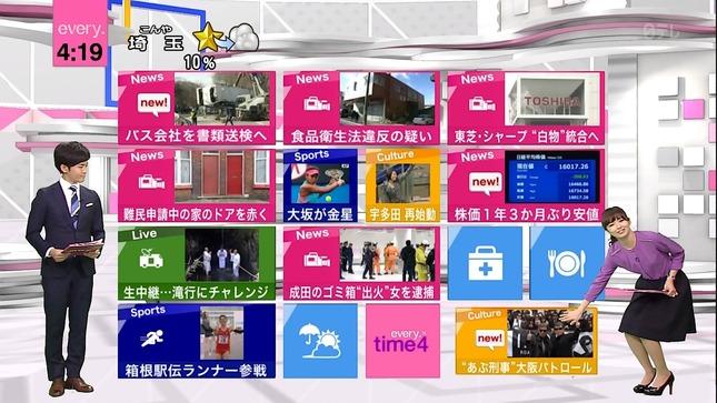 伊藤綾子 中島芽生 NewsEvery 11