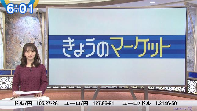片渕茜 ニュースモーニングサテライト 1