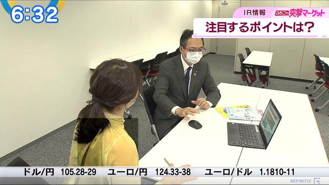 片渕茜 ニュースモーニングサテライト 22