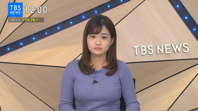 篠原梨菜 TBSニュース 1番だけが知っている 10