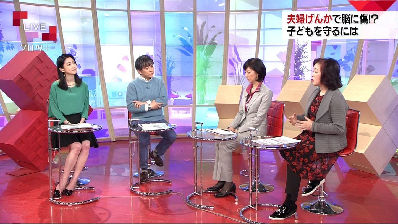 田中泉アナ ナマ脚! クローズアップ現代+