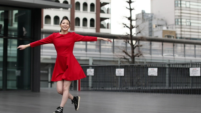 住田紗里アナが本気でフル尺踊ってみた 女子アナダンス部 20