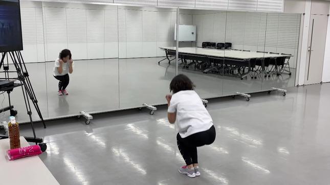田中萌アナ10日間の記録 女子アナダンス部 31