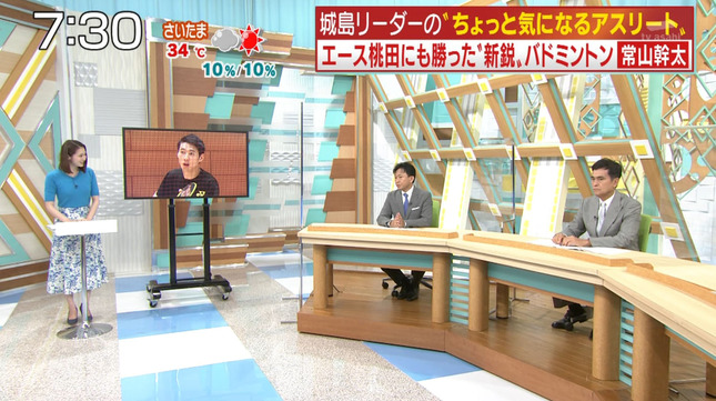 住田紗里 週刊ニュースリーダー 4