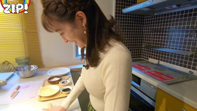 後呂有紗アナとクッキングデート「ごはんでおせんべい作ってみた」13