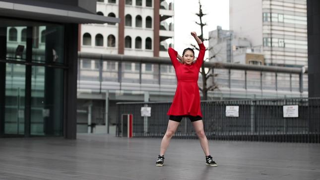 住田紗里アナが本気でフル尺踊ってみた 女子アナダンス部 4