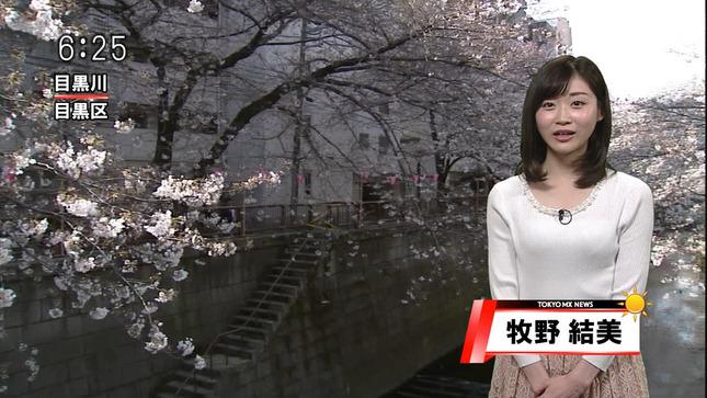 牧野結美 TOKYO MX NEWS 18