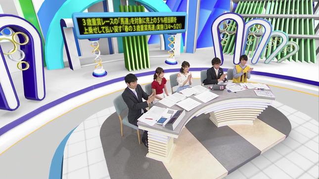 高見侑里 高田秋 BSイレブン競馬中継 9