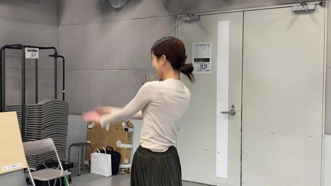 下村彩里 女子アナダンス部 練習編 20