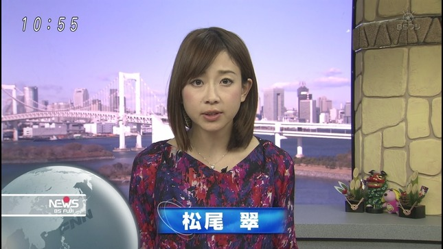 松尾翠 BSフジNEWS 04