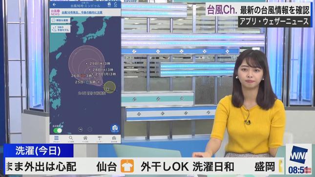 角田奈緒子 ウェザーニュースLiVE 13
