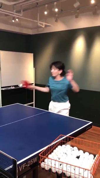 大橋未歩 Twitter 卓球 2