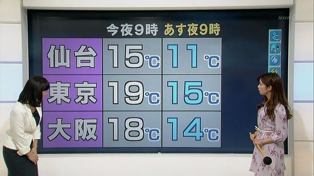 小郷知子 寺川奈津美 NHKニュース7 14