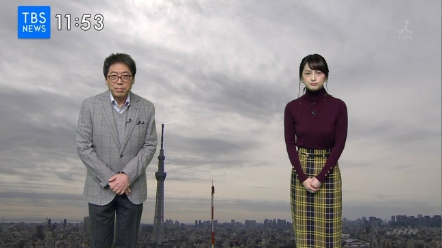 山本恵里伽 TBSニュース9