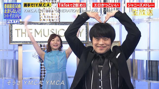 THE MUSIC DAY 2021 滝菜月 貴島明日香 市來玲奈 14