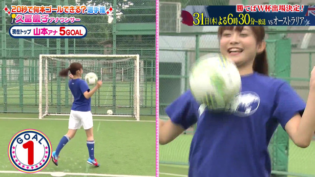久冨慶子 女子アナキックチャレンジ 6