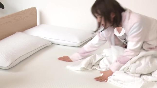 弘中綾香 話題マットレスで寝心地検証!! 17