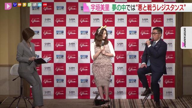 宇垣美里 GABA 新商品発表会 8