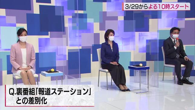 大江麻理子 WBS春の改編発表会見 9