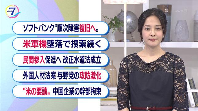 鈴木奈穂子 NHKニュース7 9